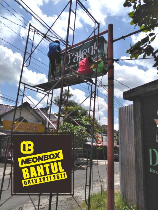 Jasa Neon box murah Bantul jogja