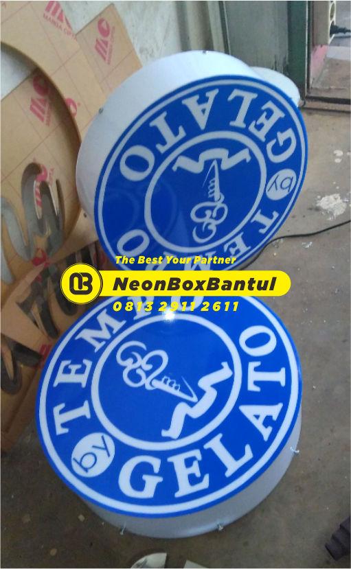 Neon Box gelato murah di Bantul