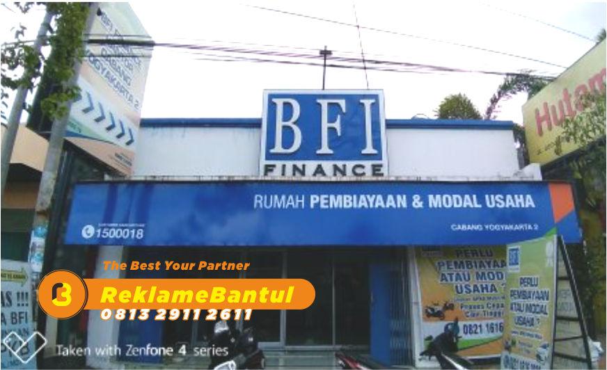 Reklame Plang Nama Papan Nama kantor finance Di Bantul