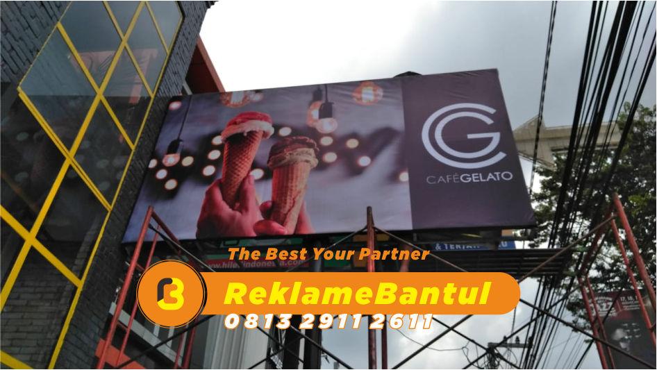 Reklame Plang Nama Papan Nama toko resto Di Bantul